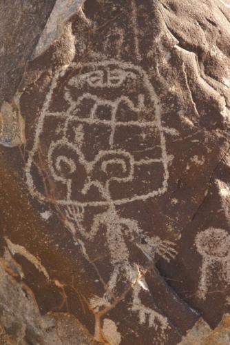 Petroglifo - Gran sacerdote